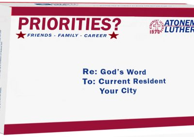 Priorities? – God's Word – September, 17th – Paul Cross