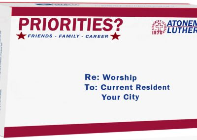 Priorities? – Worship– September, 24th – Becky Lee