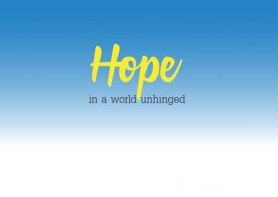 Hope in a World- October 8th – Paul Cross