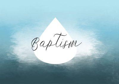 Baptism | January 7 | Paul Cross