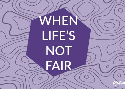 When Life's Not Fair- And What About Me? | March 24 | Pastor Paul Cross