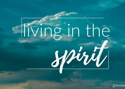 Living in the Spirit – Worshiping in the Spirit | June 30 | Pastor Paul Cross