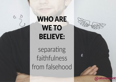 Who Are We to Believe? | Pastor Paul Cross | August 21